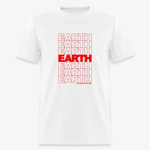 earth - take out - Men's T-Shirt