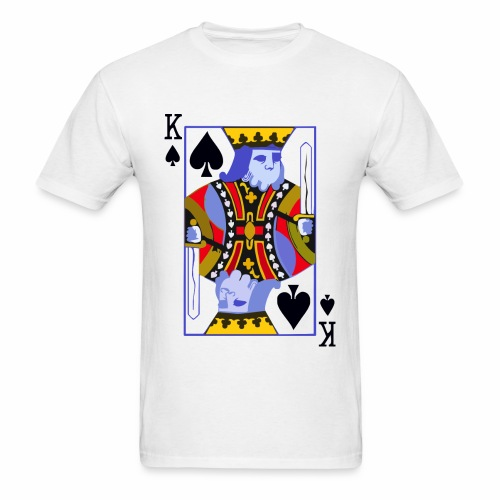 King Of Spades - Men's T-Shirt