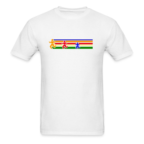 Runner Lines - Men's T-Shirt