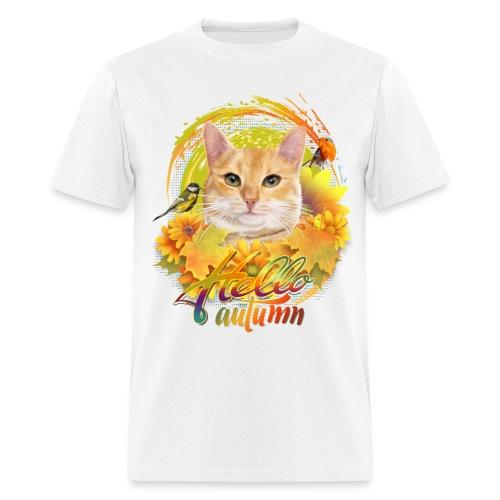 Autumn Cat - Men's T-Shirt