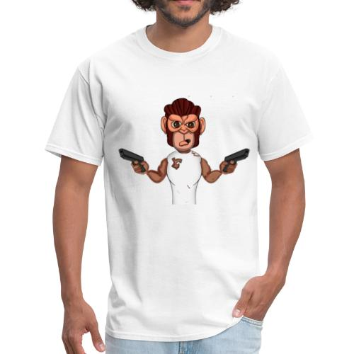 Crazy Monkey Armed - Men's T-Shirt