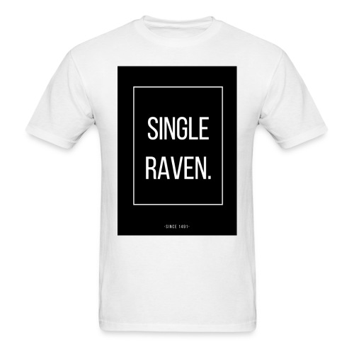 SINGLE RAVEN | MINGLE - Men's T-Shirt