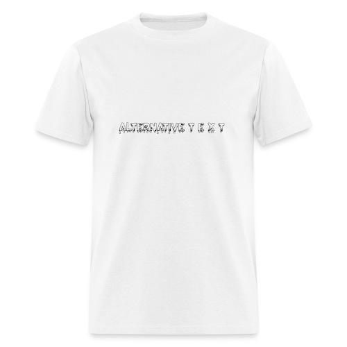 A T - THE CHUBBY DESIGN   Alternative Text co. - Men's T-Shirt