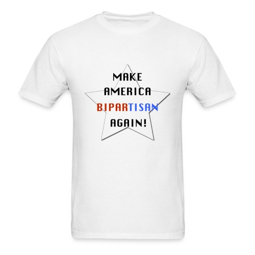 Make America Bipartisan Again! - Men's T-Shirt