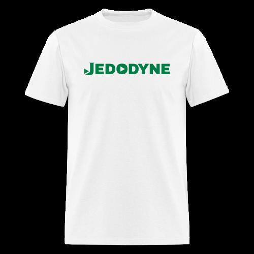 JEDODYNE CLASSIC GREEN TEXT - Men's T-Shirt