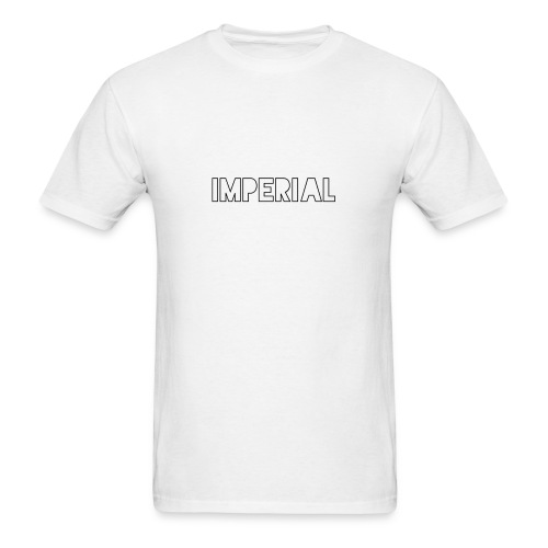 Plain Imperial Logo - Men's T-Shirt