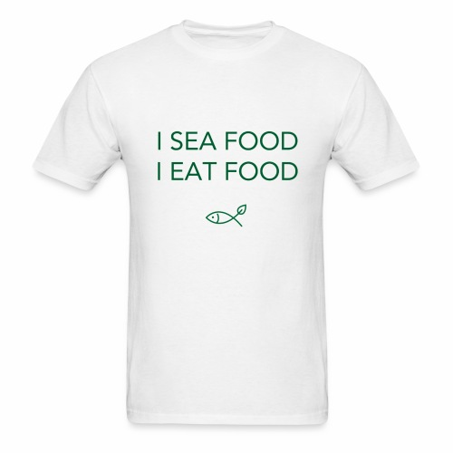 sea food - Men's T-Shirt