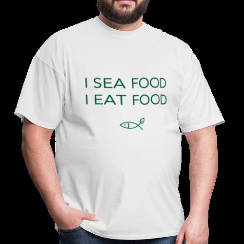 sea food - Men's T-Shirt