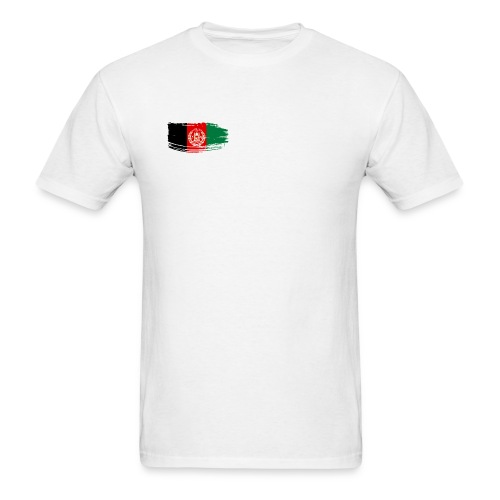Afghanistan Flag - Men's T-Shirt