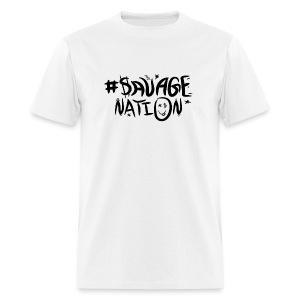 SAVAGE NATION classic black - Men's T-Shirt