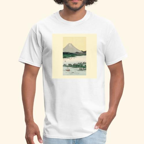 Mount Fuji from Suruga Bay Japan - Men's T-Shirt