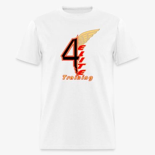 4ELITE Offset Black - Men's T-Shirt