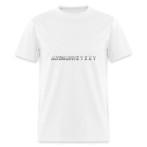 A T - THE CHUBBY DESIGN | Alternative Text co. - Men's T-Shirt