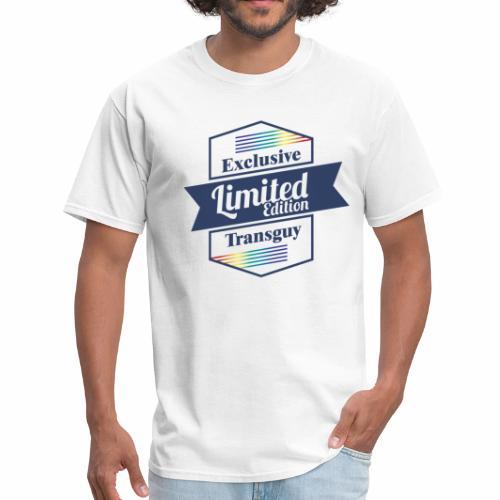 Limited Edition Transguy - Men's T-Shirt