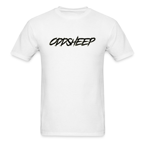 OddSheep Logo Black - Men's T-Shirt