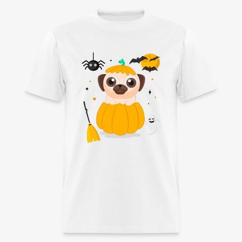 I love Halloween Pug Dog T-Shirt - Men's T-Shirt