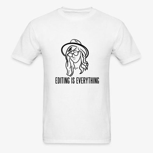 Editing Is Everything NEW LOGO - Men's T-Shirt