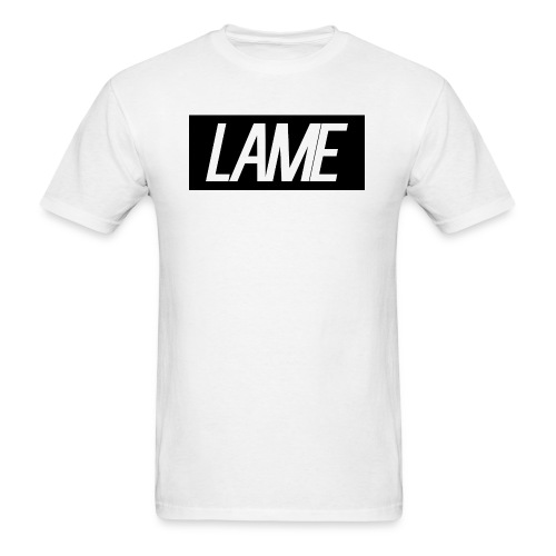 lame/black rectangle - Men's T-Shirt