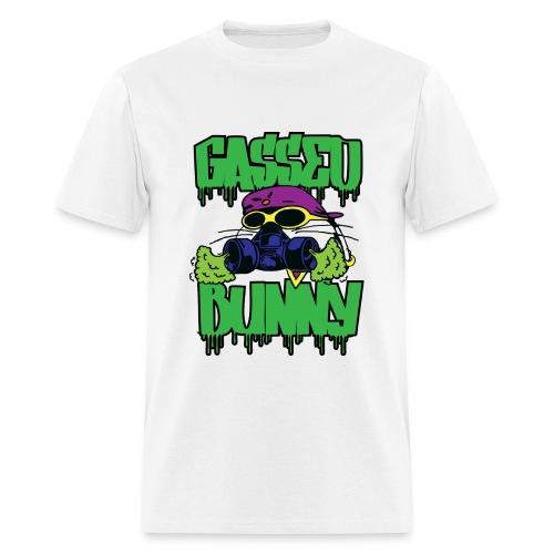 GASSED BUNNY ARTWORK - Men's T-Shirt
