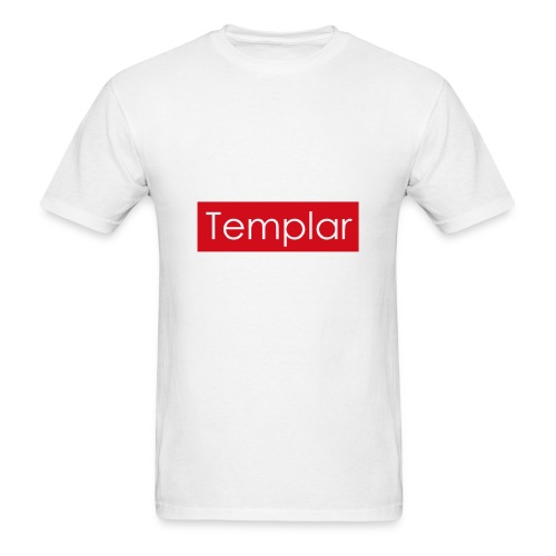 Red bar Templar - Men's T-Shirt