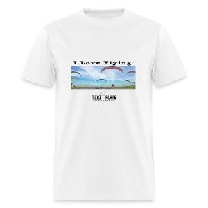 i love flying1 - Men's T-Shirt