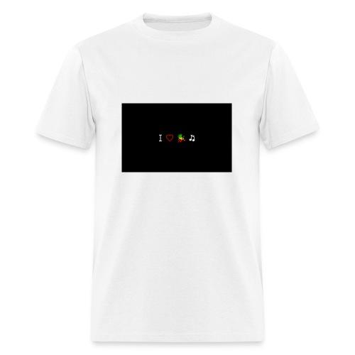 i love reggae music - Men's T-Shirt