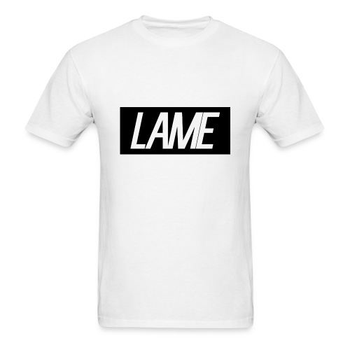 lame/black rectangle - Men's T-Shirt
