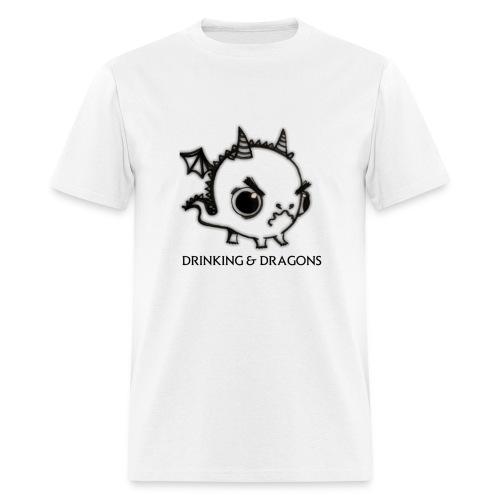 ANGRY DRAGON - Men's T-Shirt