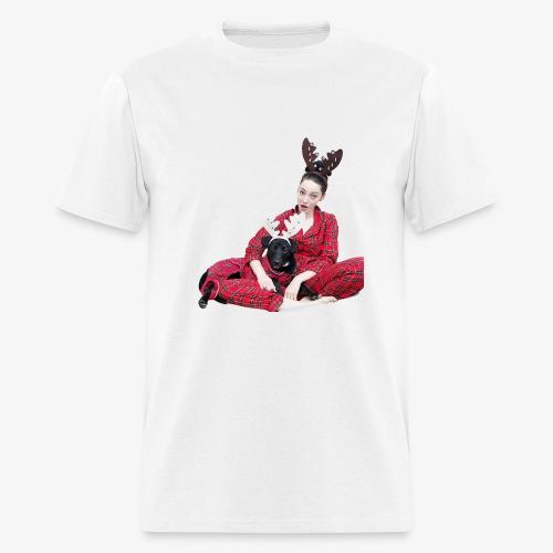 Zoe Pupper Holidays - Men's T-Shirt