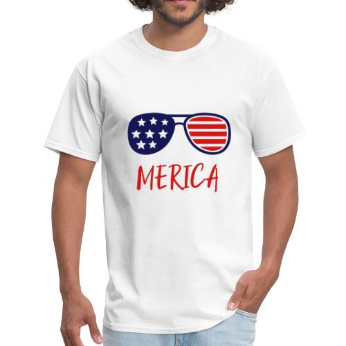 Merica Shirt - USA merica woman shirt -Merica 1255 - Men's T-Shirt