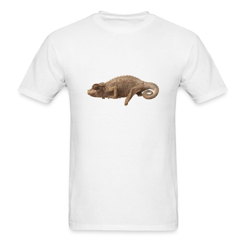 Lone Chameleon - Color - Men's T-Shirt