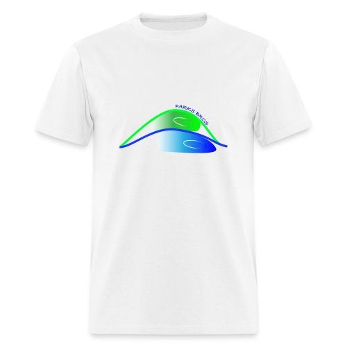 Parks Bros Logo w/ Words - Men's T-Shirt
