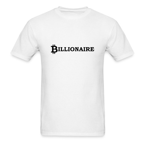 Bitcoin billionaire - Men's T-Shirt