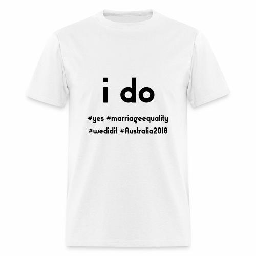 ido marriageequality tshirt design 15012018 - Men's T-Shirt