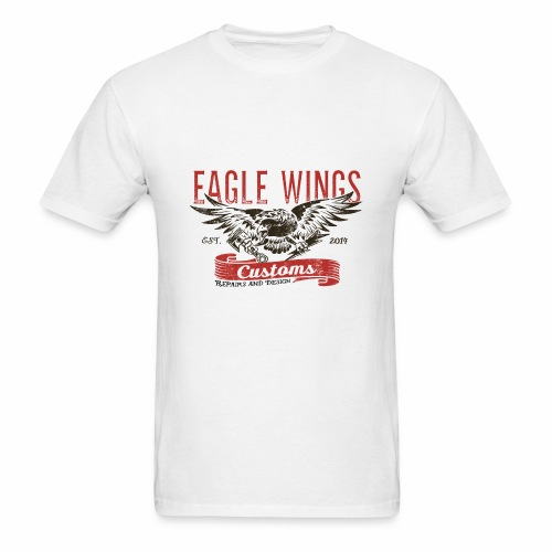Eagle Wings Customs - Men's T-Shirt