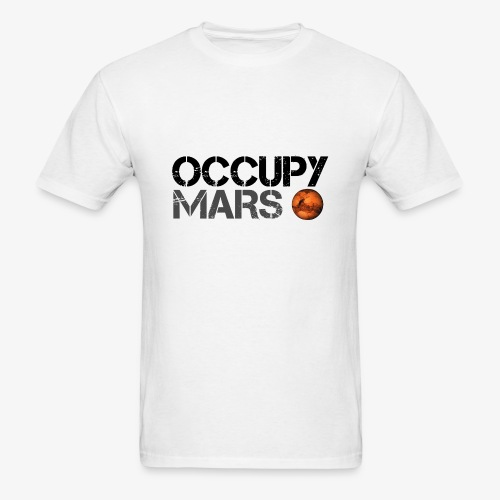 Occupy Mars - Space Planet - SpaceX - Men's T-Shirt