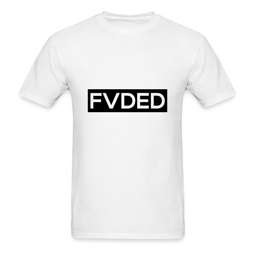 FVDED Cutout Black V1 - Men's T-Shirt