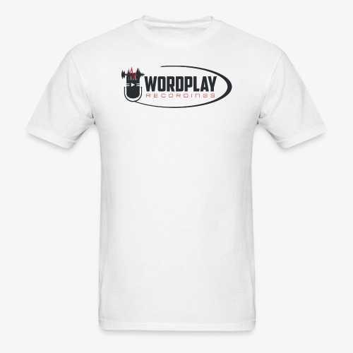 Wordplay Records revamped logo - Men's T-Shirt