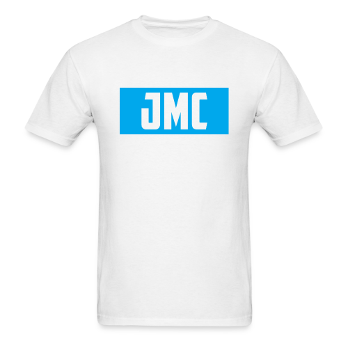 JMC's Blue Logo - Men's T-Shirt