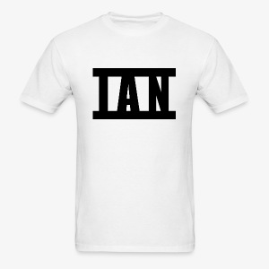 I A N Logo - Men's T-Shirt
