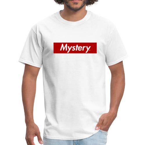 Mystery Mark Box Logo - Men's T-Shirt