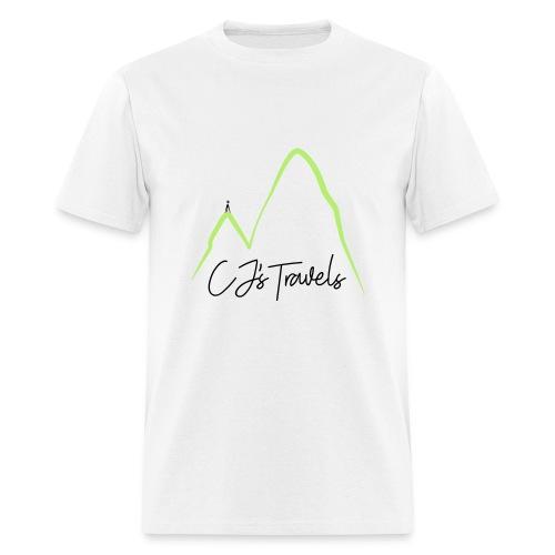 CJ s Travels Secondary - Men's T-Shirt