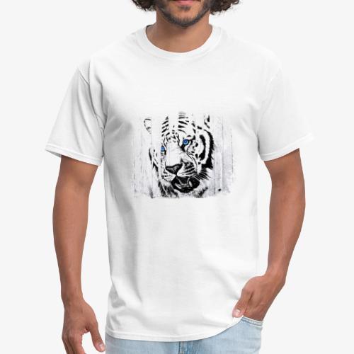 White Tiger Vintage Circus Cartel - Men's T-Shirt