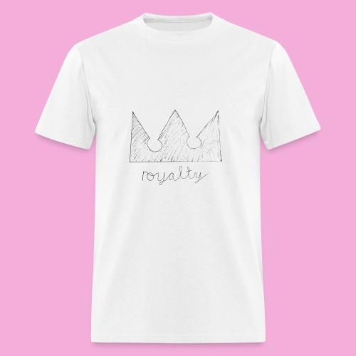royalty crown - Men's T-Shirt
