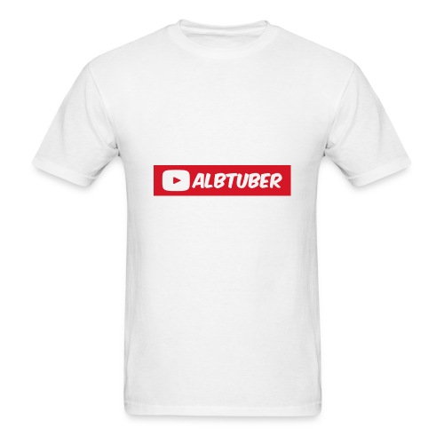 AlbTuber Logo - Men's T-Shirt