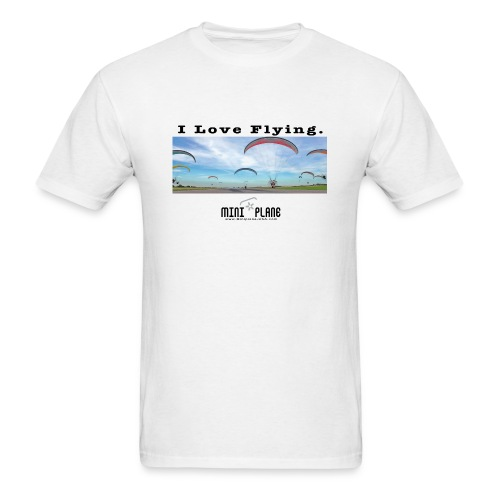 i love flying1 - Men's T-Shirt