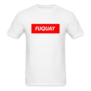 Fuquay Box Logo - Men's T-Shirt