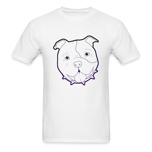 Pit Tee Outline alt. - Men's T-Shirt