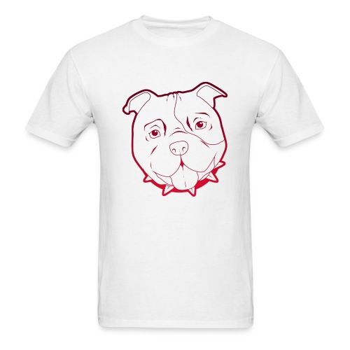 Pit Tee Outline - Men's T-Shirt