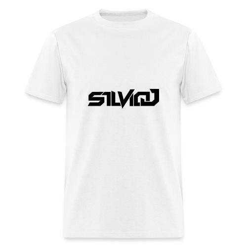 SilvioJ Text Logo Black - Men's T-Shirt